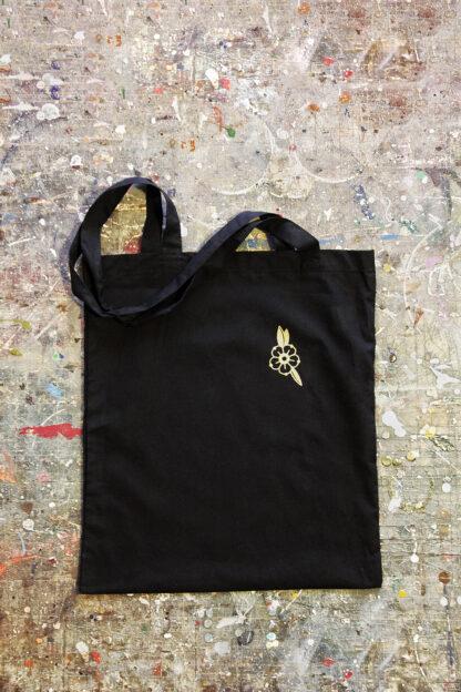 Gold printed Bag wolf back