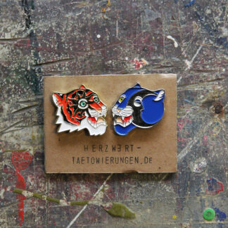 Pins Tiger Panther