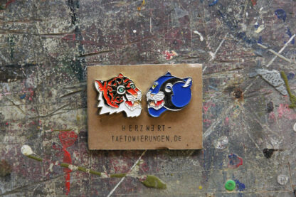 Pins Tiger Panther